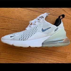 Nike Air max 270 white tennis shoes